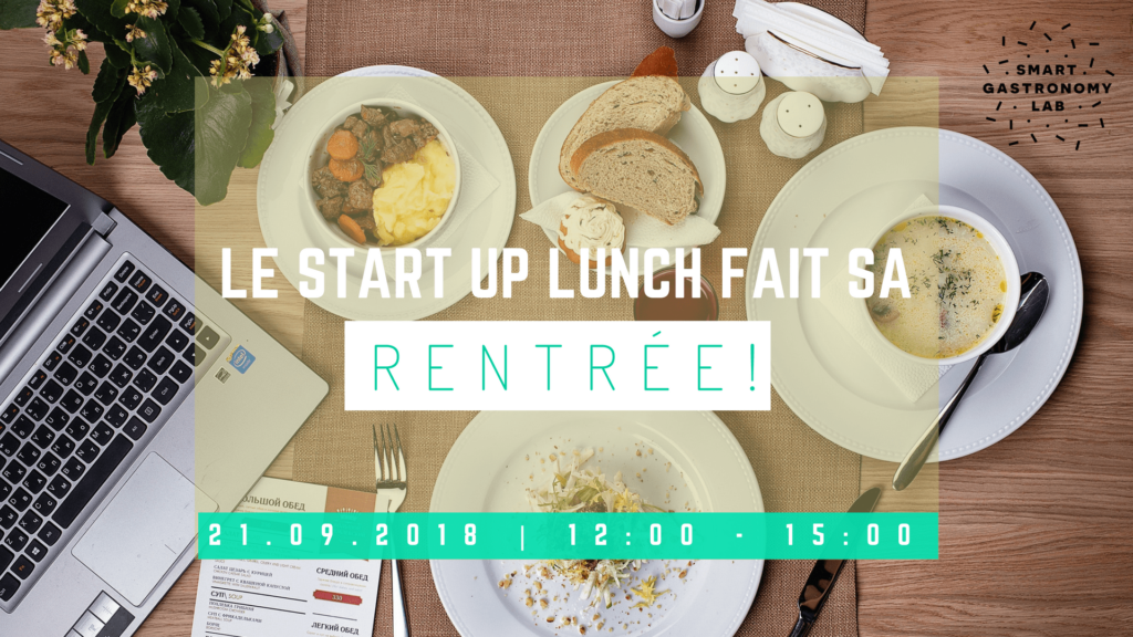 Start up lunch- Smart Gastronomy Lab