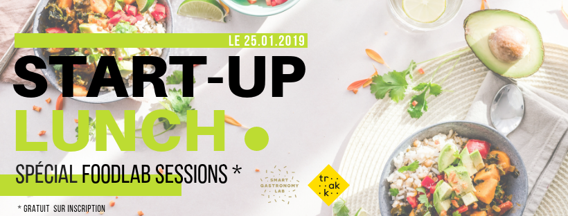 Start-Up Lunch - Smart Gastronomy Lab - FoodLab Sessions