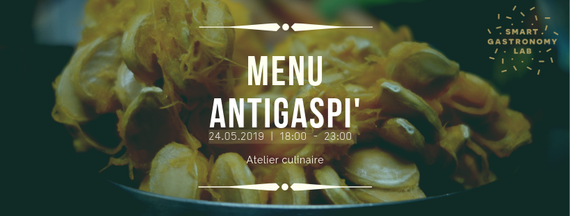 Menu antigaspi - Atelier Culinaire- Smart Gastronomy Lab