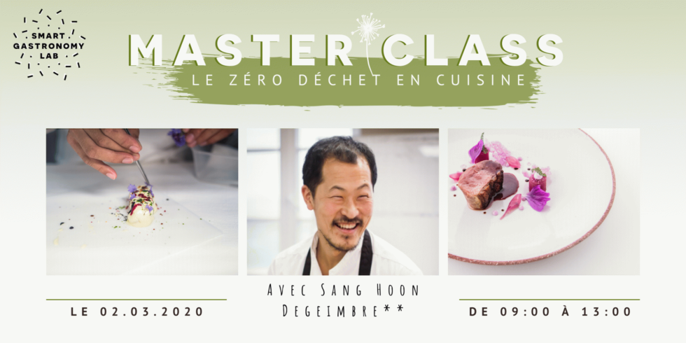 Master Class Zero Waste - Smart Gastronomy Lab